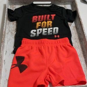 Under Armour Infant Heat Gear Matching Set